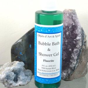 Fluorite Bubble Bath and Shower Gel