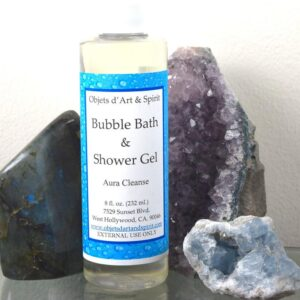 Aura Cleanse Bubble Bath and Shower Gel