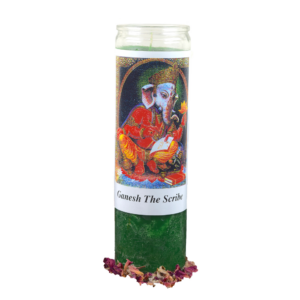 Ganesh the Scribe DXM Candle