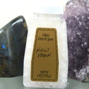 New Moon Bath Salt Crystals
