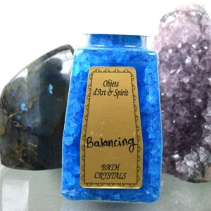 Balancing Bath Salt Crystals