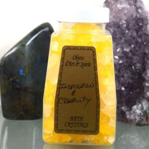 Inspiration & Creativity Bath Salt Crystals