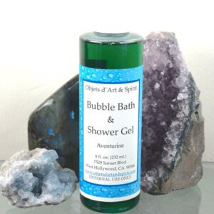 Aventurine Bubble Bath and Shower Gel