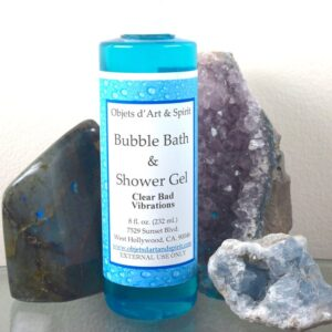 Clear Bad Vibrations Bubble Bath and Shower Gel