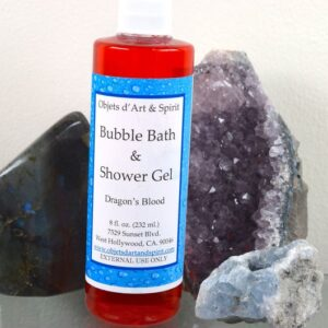 Dragon's Blood Bubble Bath and Shower Gel