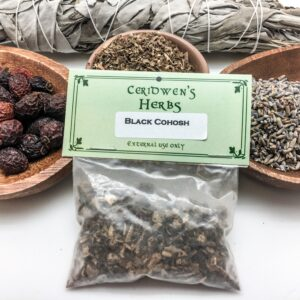 Black Cohosh Herb Packet