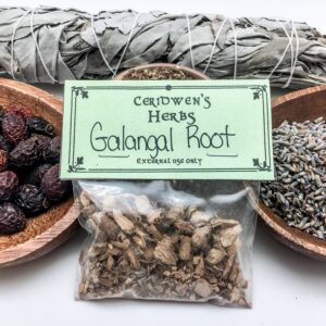 Galangal Root Herb Packet