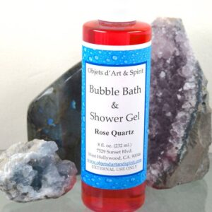 Rose Quartz Bubble Bath and Shower Gel