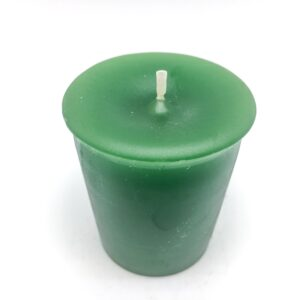 Green Votive Candle
