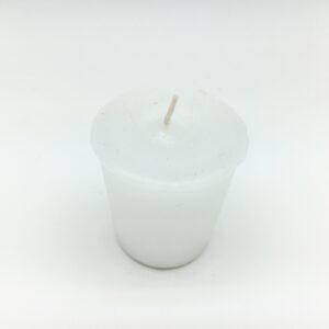 White Votive Candle