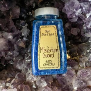 Misfortune Guard Bath Salt Crystals