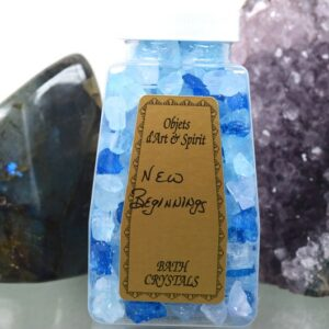 New Beginnings Bath Salt Crystals