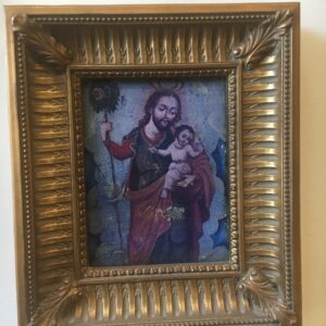St. Joseph Wood Frame Painting