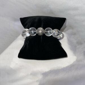 Clear Quartz Crystal Bracelet