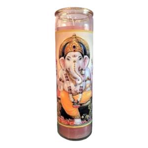 Ganesh Glitter Candle