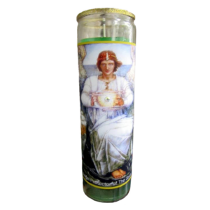 Angel Protector of the Seas Glitter Candle
