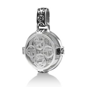 Sterling Silver Mirror Pendant