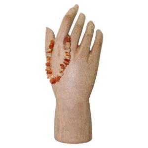 Carnelian Chip Stretchy Bracelet