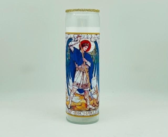 Archangel Michael Glitter Candle