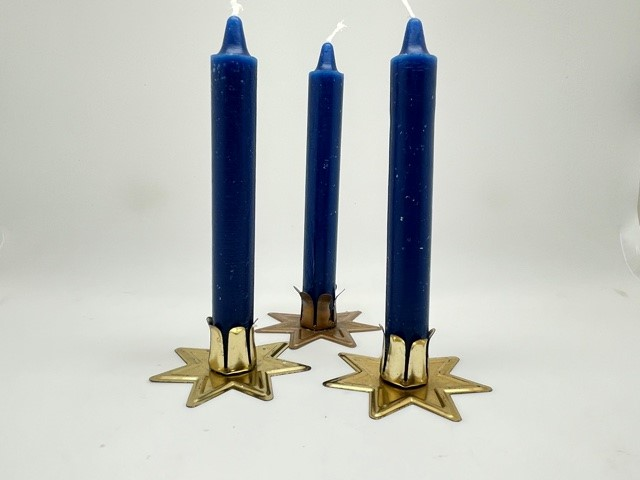 Blue Ritual Candle